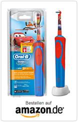Oral-B-Stages-Power-Akku-Cars-elektrische-Kinderzahnbuerste mit Timer
