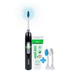 Vergleich emmi®-dent metallic elektrische Ultraschall Zahnbürste